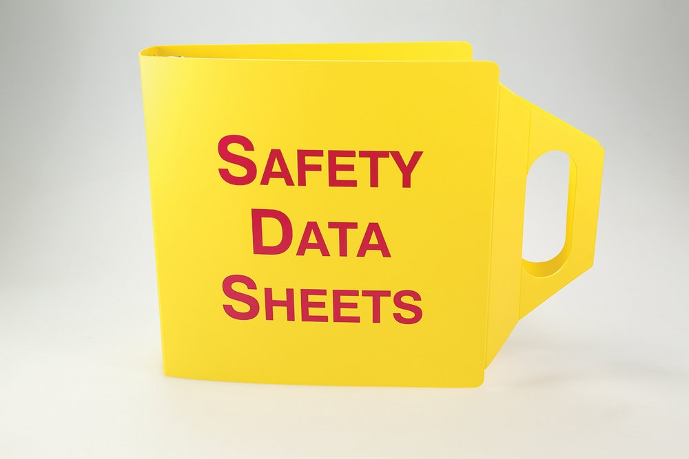 SDS Job Site Binders With Handles: Safety Data Sheets 2 1/2