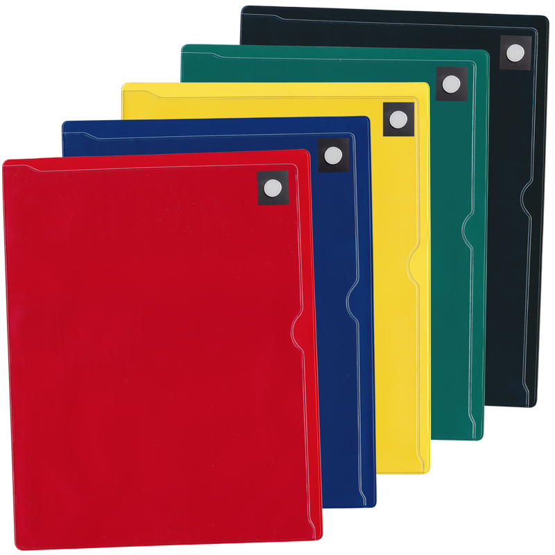 Color-Coded Magnetic Document Holder - DTH204RD
